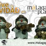 Navidad Solidaria en Málaga Plaza