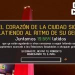 El Obelisco de Buenos Aires late al ritmo de tu corazón