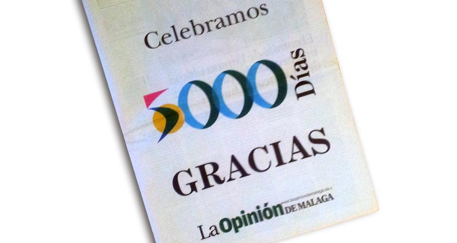 15 años de la Opinión de Málaga