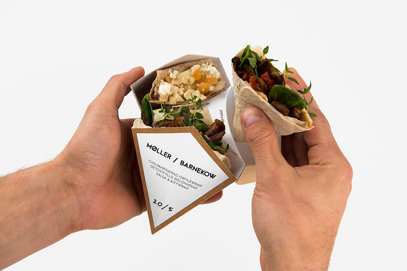 "Packaging ""Comida para llevar"""